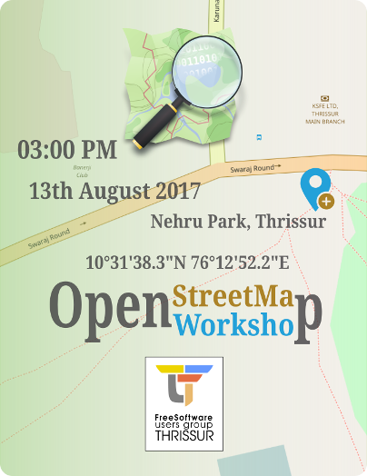 OpenStreetMap Workshop by FSUG Thrissur