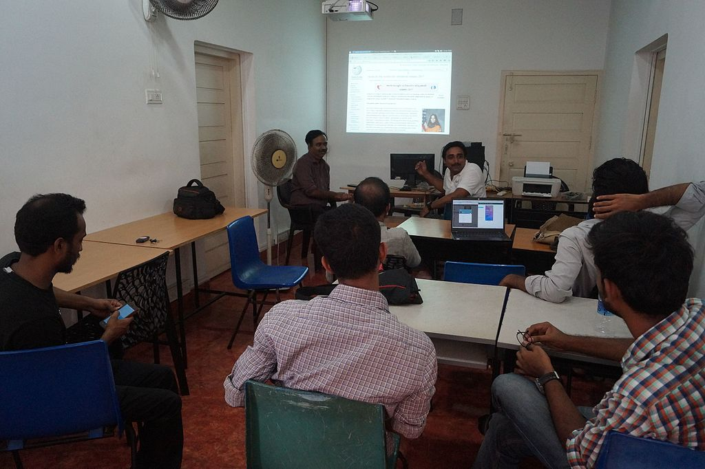 Wikipedia Workshop by FSUG Thrissur